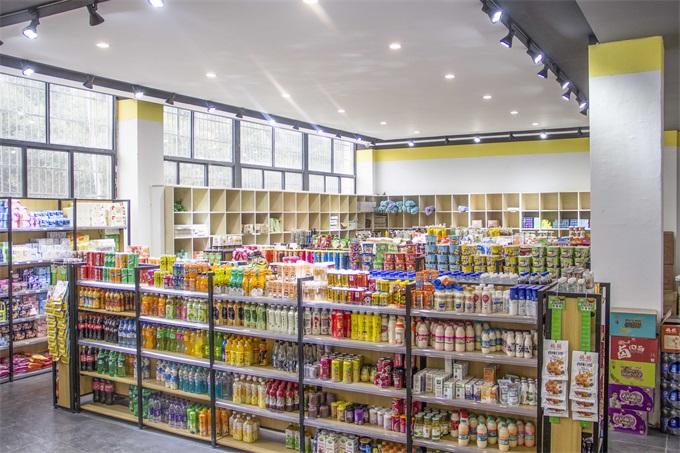 将军画室作品:超市实景