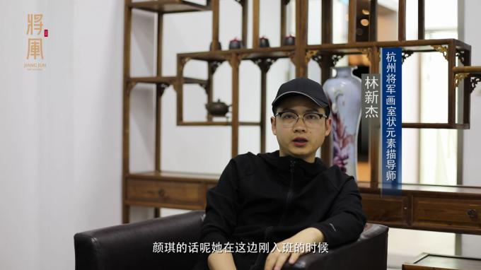 杭州将军画室2018甘肃省联考状元状元导师访谈