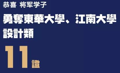杭州将军画室丨2019届东华大学 & 江南大学校考成绩公示!