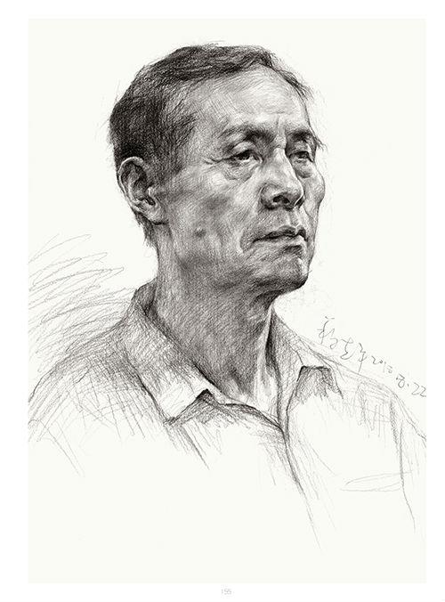 将军画室作品:段志平老师素描作品2