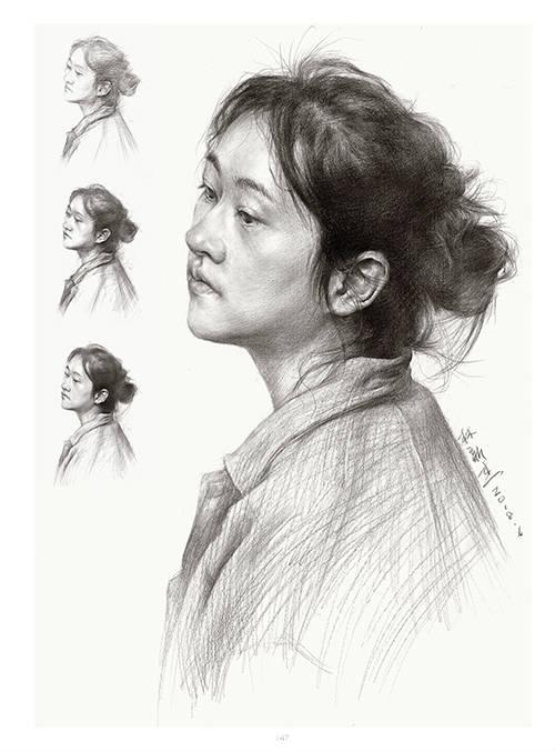 将军画室作品:林新杰老师素描作品6