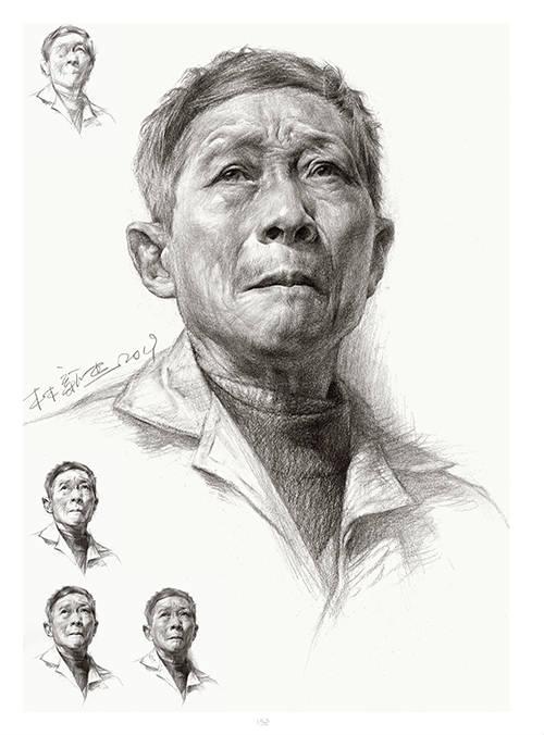 将军画室作品:林新杰老师素描作品7