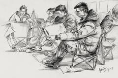美术生如何画好速写?这两点很重要