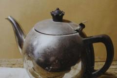 素描器皿丨素描不锈钢水壶画法步骤示范教程