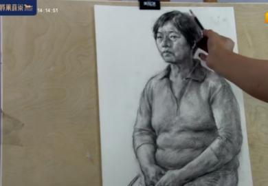 将军画室张彦琨素描人物写生教学直播回放