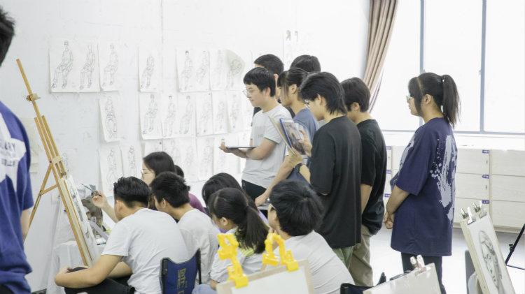 将军画室教学课堂实拍5