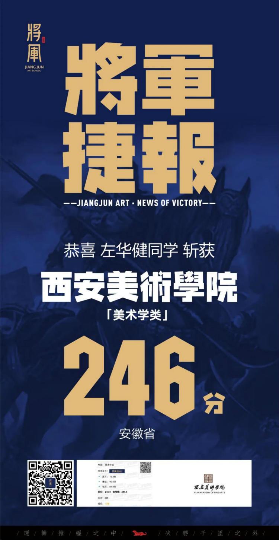 将军画室西安美术学院战绩6