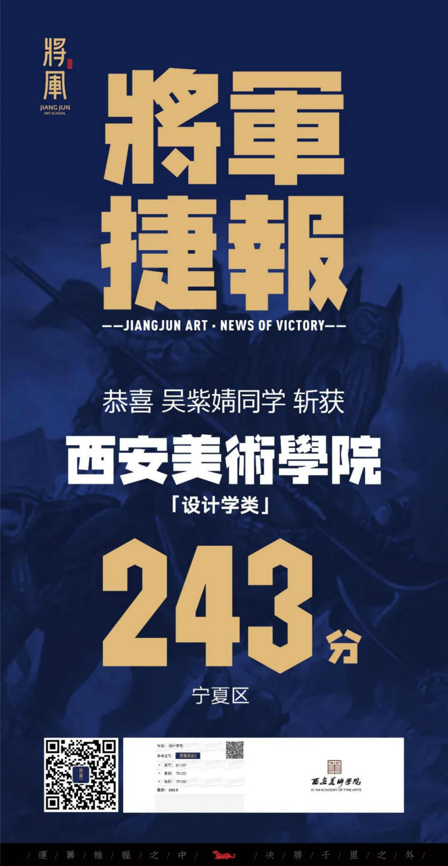 将军画室西安美术学院战绩8