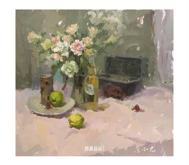 将军画室作品:詹小龙色彩作品1