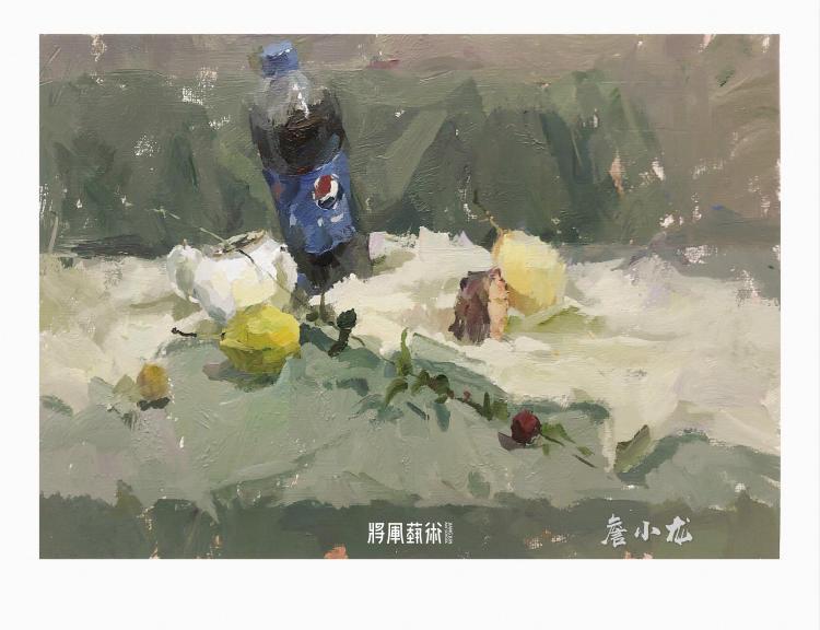 将军画室作品:詹小龙色彩作品2