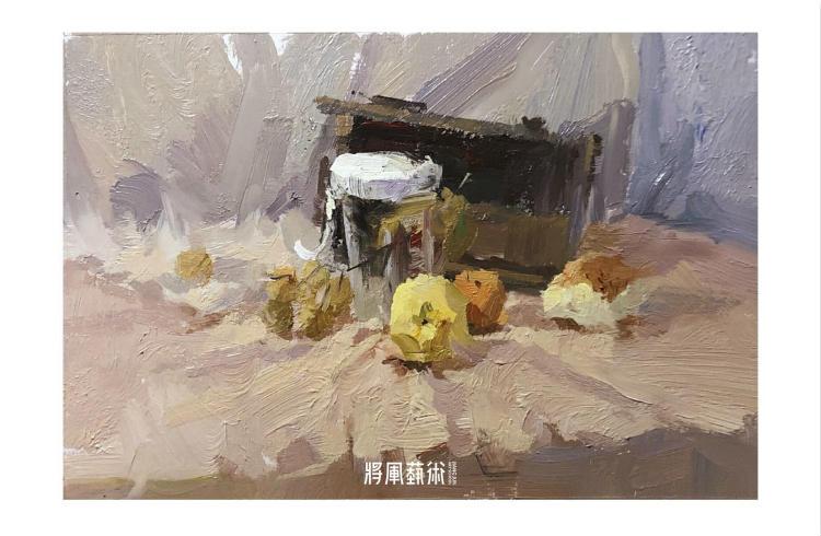 将军画室作品:詹小龙色彩作品7