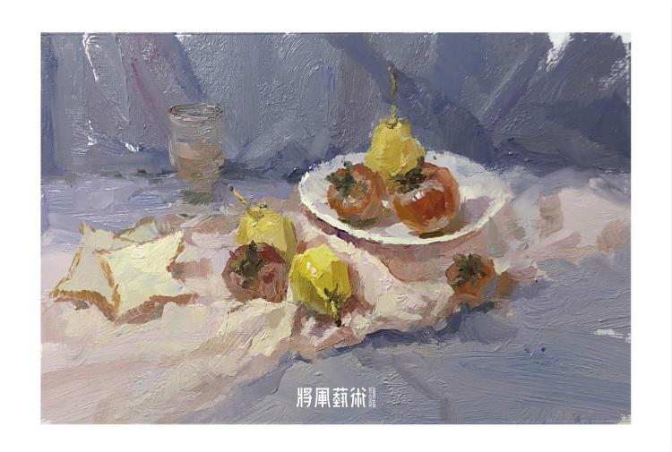 将军画室作品:詹小龙色彩作品8