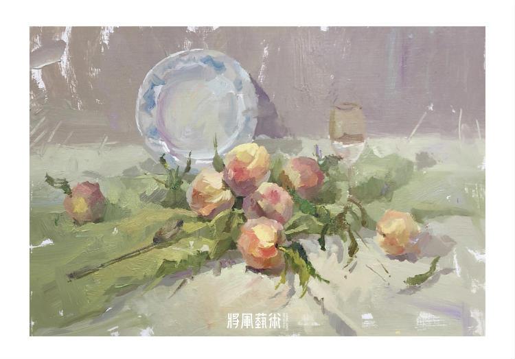 将军画室作品:詹小龙色彩作品9