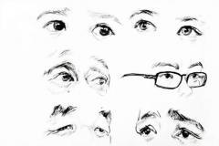 局部速写眼睛的绘画技巧解析