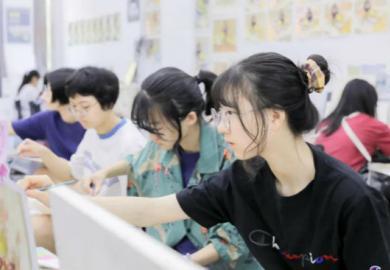 2020将军画室暑期班优秀学生谢佳沁专访