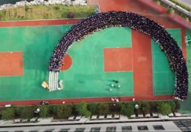 杭州将军画室2020-2021届集体照